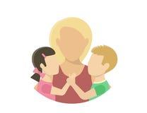 motherhood royalty-vrije illustratie
