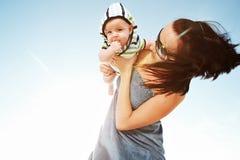 Motherhood. stock images