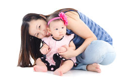 Motherhood Royalty Free Stock Photo