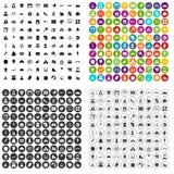 100 motherhood icons set vector variant. 100 motherhood icons set vector in 4 variant for any web design isolated on white Royalty Free Stock Photo