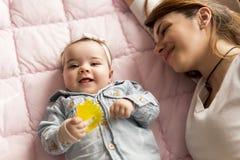 Motherhood joy Royalty Free Stock Photos