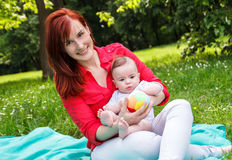 Motherhood Royalty Free Stock Images