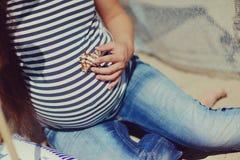 Motherhood and tenderness Stock Photo