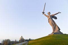 The Motherland Calls Stock Photos