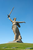 Motherland Calls in Mamayev Kurgan Stock Photos