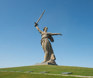 Motherland Calls in Mamayev Kurgan Royalty Free Stock Images
