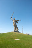 Motherland Calls in Mamayev Kurgan Stock Photography
