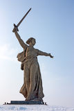Motherland calls Royalty Free Stock Photo