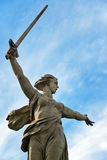 Motherland Calls monument. Memorial complex Mamayev Kurgan in Volgograd Stock Photo