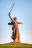 'The Motherland calls!' monument in Volgograd, Russia Royalty Free Stock Images