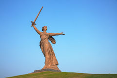 'The Motherland calls!' monument in Volgograd, Russia Royalty Free Stock Photography