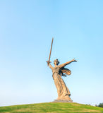 'The Motherland calls!' monument in Volgograd, Russia Royalty Free Stock Photo