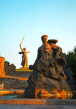 The Motherland calls! monument in Volgograd, Russia Royalty Free Stock Image