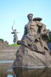 The Motherland calls! monument in Volgograd, Russia Stock Photos