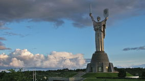 Motherland Monument. Kiev Royalty Free Stock Images