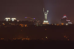 The Motherland monument in Kiev Stock Image