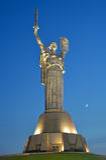 Motherland Monument in Kiev Stock Photo