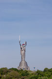 Motherland monument in Kiev Stock Photos