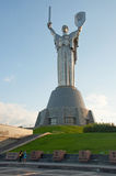 The Motherland Monument in Kiev Stock Photography
