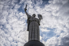 THE MOTHERLAND MONUMENT Stock Photos