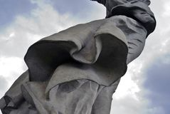 Motherland statue. Royalty Free Stock Images