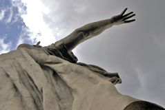Motherland statue. Royalty Free Stock Image
