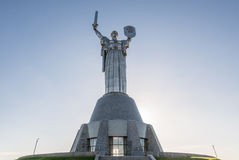 Motherland statue Royalty Free Stock Photo