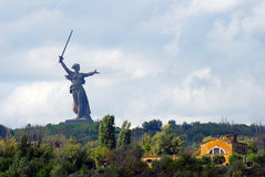 Motherland statue. Stock Photography