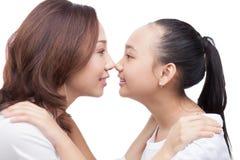 Motherly влюбленность Стоковое фото RF