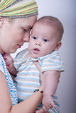 Motherly Liebe Stockfotos
