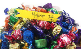 Mothers chocolates Royalty Free Stock Photography