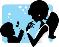 Mothers day Royalty Free Stock Photography