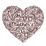 Mothers Day background with Happy Mother's day Stock Images