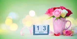 Mothers Day background Stock Photos