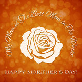 Mothers day background Royalty Free Stock Image
