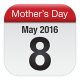 Mothers day calendar Stock Image