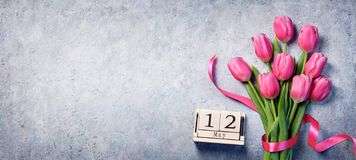 Mothers Day - Calendar royalty free stock photography