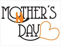 Mothers day card Stock Images