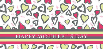 Mothers day card. Card design for the Mothers day Royalty Free Stock Photography