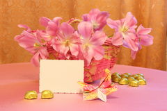 Mothers Day Card or Easter Image - Stock Photos royalty free stock image