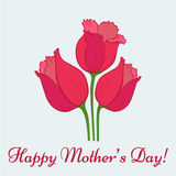 Mothers Day Card Royalty Free Stock Photo