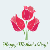Mothers Day Card Stock Image