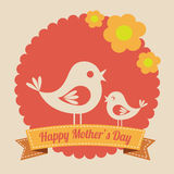 Mothers day design Royalty Free Stock Photos