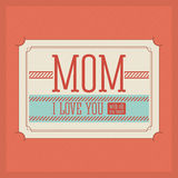 Mothers day design Stock Photos