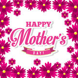 Mothers day. Design, vector illustration eps10 graphic stock illustration