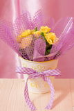 Mothers Day or Easter flowers Card - Stock Photo Stock Images