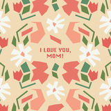 Mothers Day stock illustration