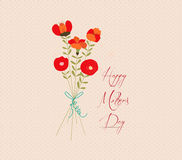 Mothers day Flower Bouquets Royalty Free Stock Photography