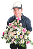 Mothers Day Flower Delivery Royalty Free Stock Images