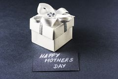 Mothers day gift and card Stock Photo